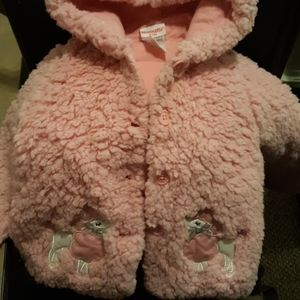 Fluffy pink sweater/hoodie